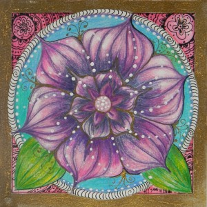 Jeweled Lotus - Purple